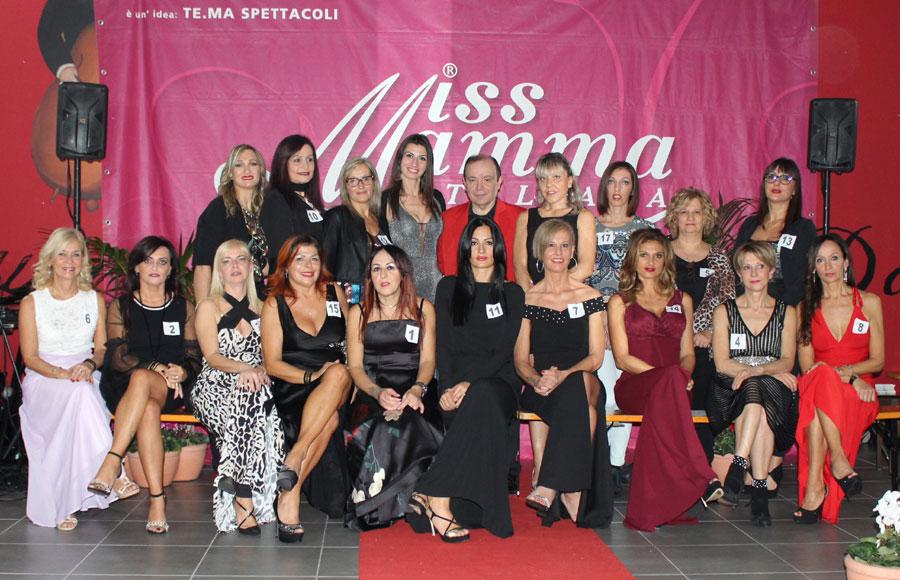 Mamme premiate alle selezioni Miss Mamma Italiana di Montegranaro