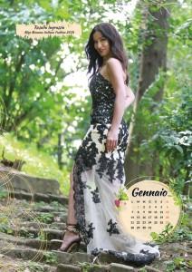 Calendario 2019 Miss Mamma Italiana - Gennaio