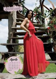Calendario 2019 Miss Mamma Italiana - Aprile