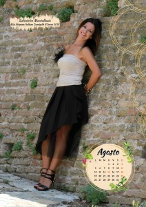 Calendario 2019 Miss Mamma Italiana - Agosto