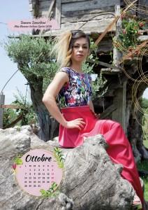Calendario 2019 Miss Mamma Italiana- Ottobre