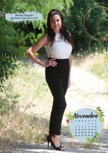 Calendario 2019 Miss Mamma Italiana - Novembre