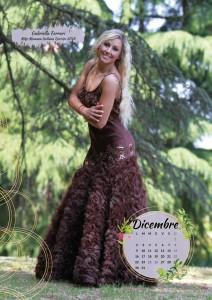 Calendario 2019 Miss Mamma Italiana - Dicembre