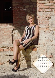 Calendario 2019 Miss Mamma Italiana Evergreen - Giugno