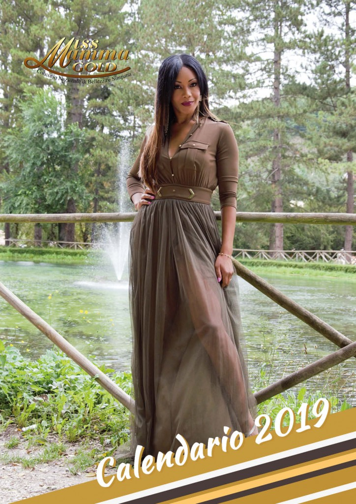 Calendario 2019 Miss Mamma Italiana Gold