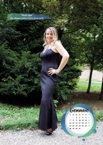 Calendario 2019 Miss Mamma Italiana Gold - Gennaio