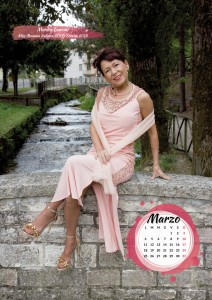 Calendario 2019 Miss Mamma Italiana Gold - Marzo
