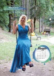 Calendario 2019 Miss Mamma Italiana Gold - Maggio