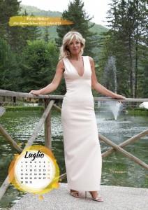 Calendario 2019 Miss Mamma Italiana Gold - Luglio