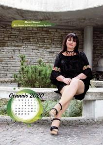 Calendario 2019 Miss Mamma Italiana Gold - Gennaio 2020