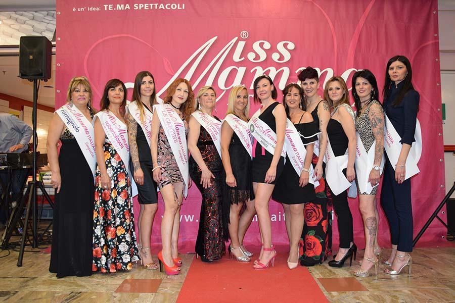 Vincitrici Miss Mamma Italiana 2019 Merate