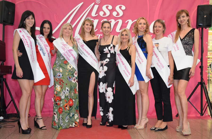 Vincitrici selezioni Miss Mamma Italiana 2019 a Nerviano