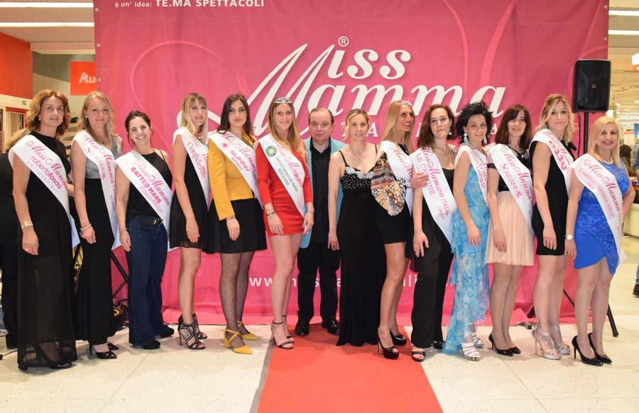 Vincitrici selezioni Miss Mamma Italiana 2019 a Rescaldina
