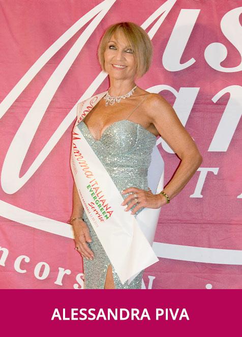 Alessandra Piva Miss Mamma Italiana Evergreen Sorriso