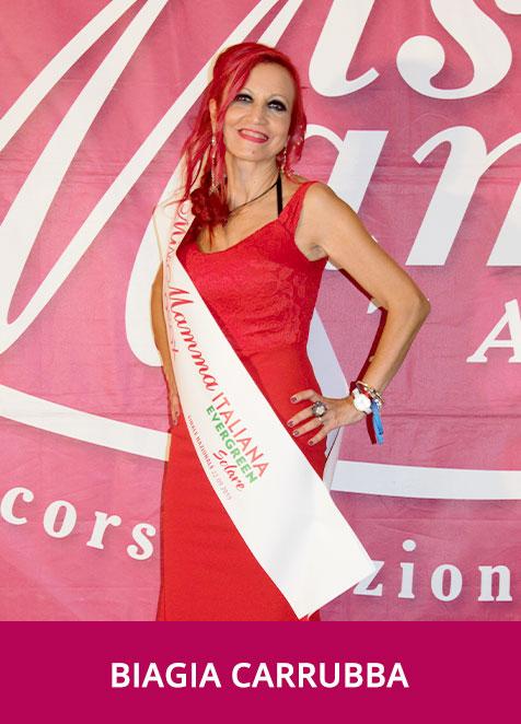 Biagia Carrubba Miss Mamma Italiana Evergreen Solare