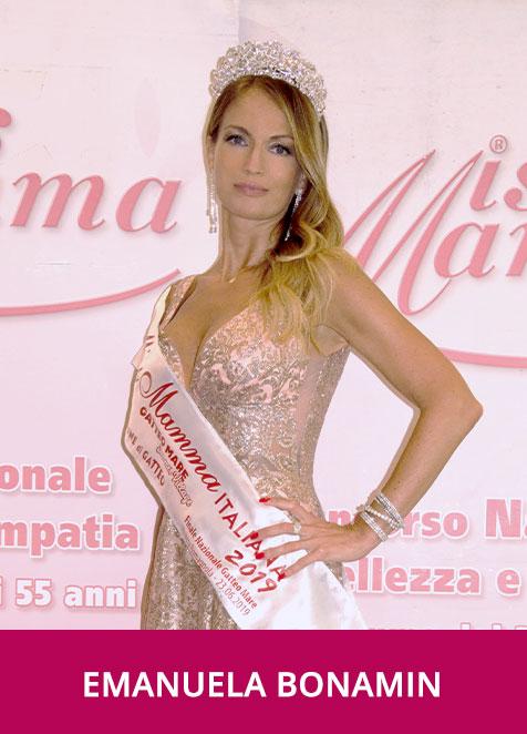 Emanuela Bonamin vincitrice Miss Mamma Italiana 2019