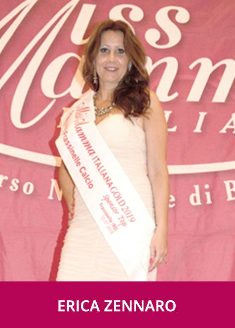 Erica Zennaro Miss Mamma Italiana Gold Sponsor Top