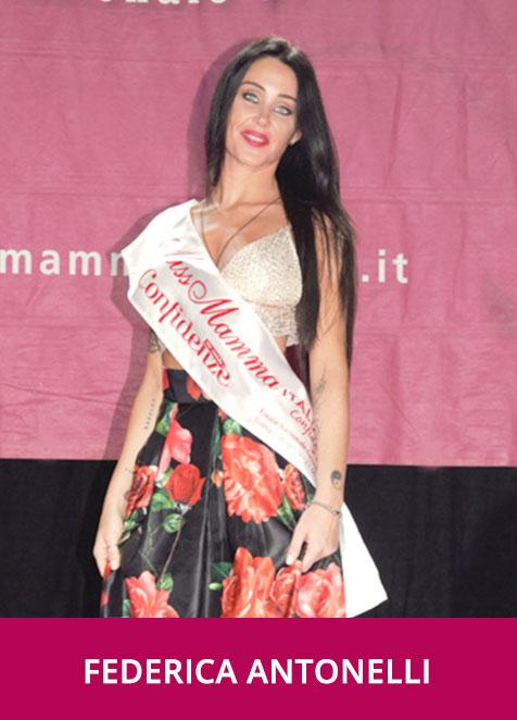 Federica Antonelli Miss Mamma Italiana Damigella d'Onore 2019