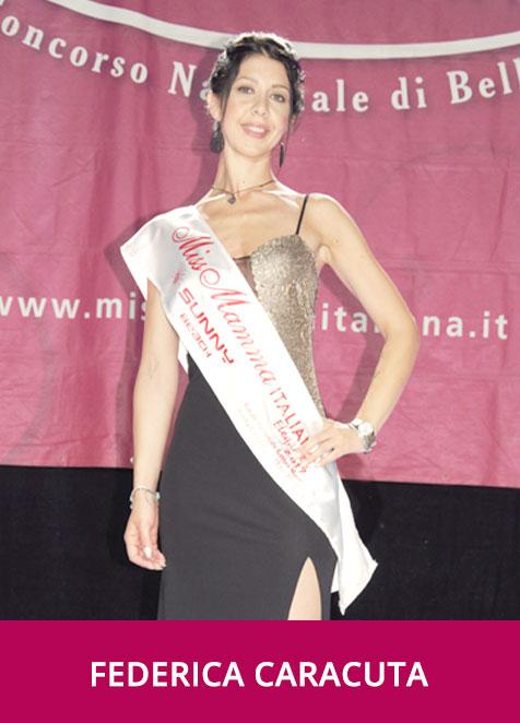 Federica Caracuta Miss Mamma Italiana Eleganza 2019