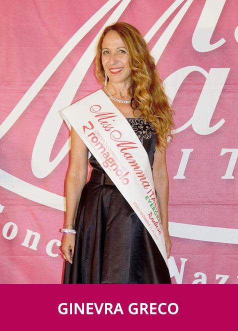 Ginevra Greco Miss Mamma Italiana Evergreen Radiosa