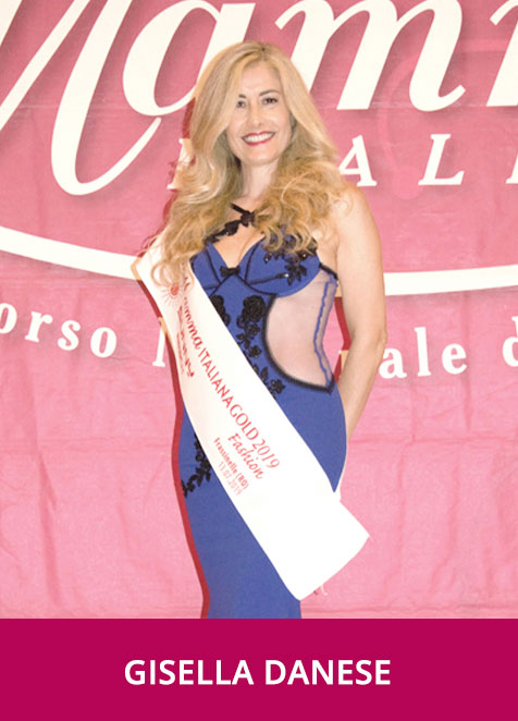 Gisella Danese Miss Mamma Italiana Gold Fashion