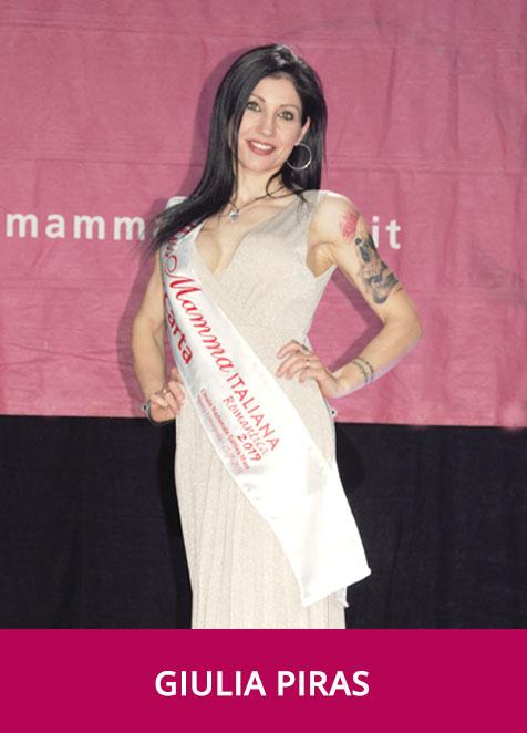 Giulia Piras Miss Mamma italiana Romantica 2019