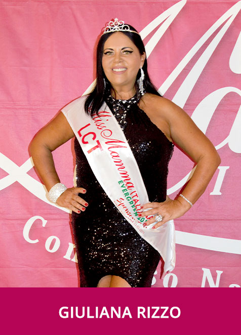 Giuliana Rizzo Miss Mamma Italiana Evergreen Sponsor Top