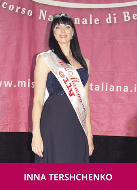 Inna Tershchenko Miss Mamma Italiana in Gambe 2019