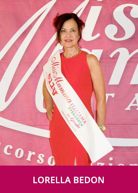 Lorella Bedon Miss Mamma Italiana Evergreen in Gambe