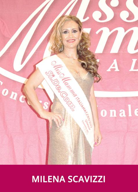 Milena Scavizzi Miss Mamma Italiana Gold Glamour