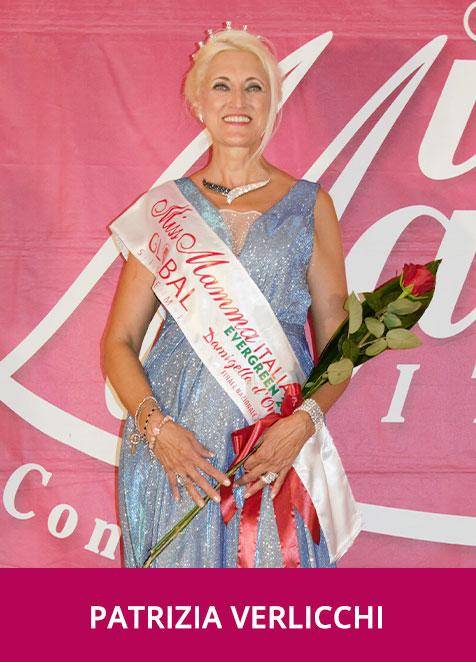 Patrizia Verlicchi Miss Mamma Italiana Evergreen Damigella d'Onore