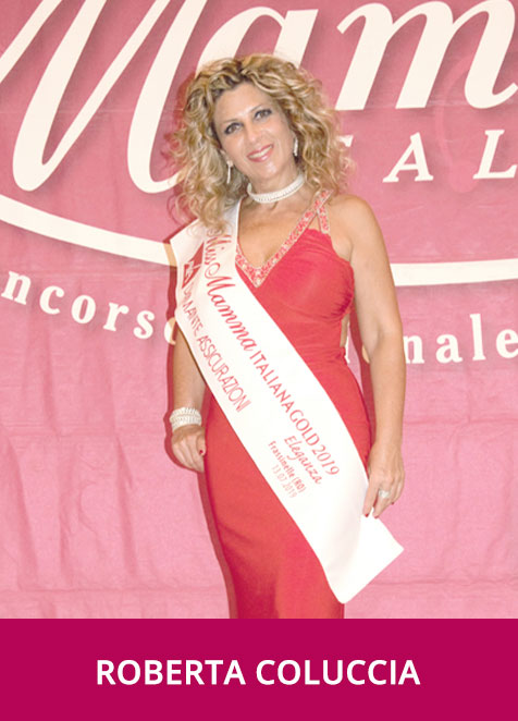 Roberta Coluccia Miss Mamma Italiana Gold Eleganza