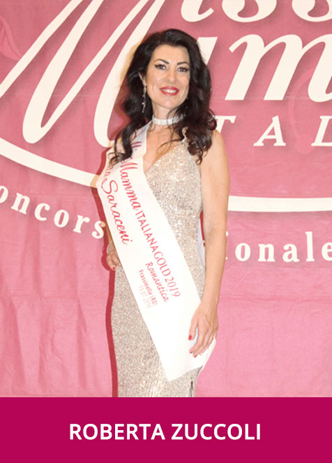 Roberta Zuccoli Miss Mamma Italiana Gold Romantica