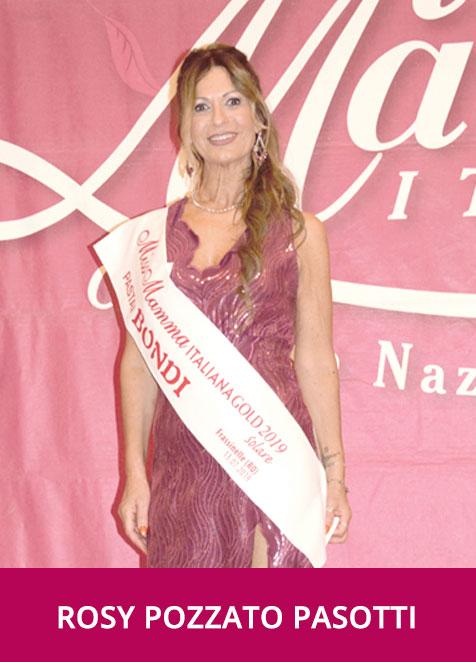 Rosy Pozzato Pasotti Miss Mamma Italiana Gold Solare