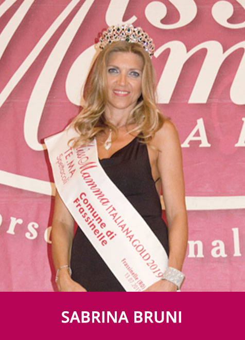 Sabrina Bruni Miss Mamma Italiana Gold 2019