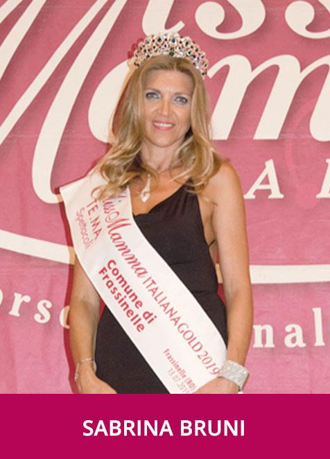 Sabrina Bruni Miss Mamma Italiana Gold 2019