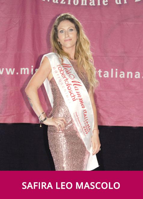 Safira Leo Mascolo Miss Mamma Italiana Fashion 2019