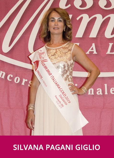 Silvana Pagani Giglio Miss Mamma Italiana Gold Dolcezza