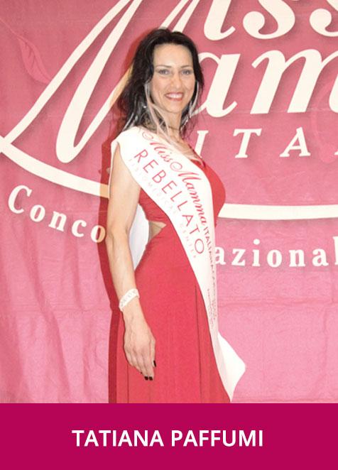 Tatiana Paffumi Miss Mamma Italiana Gold Sprint