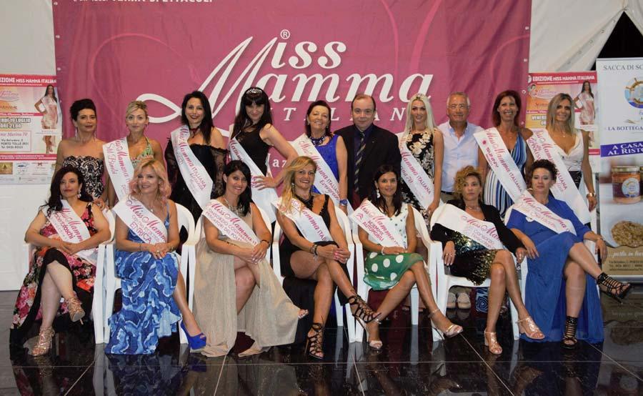 Vincitrici selezione Miss Mamma Italiana 2019 a Porto Tolle (Rovigo)