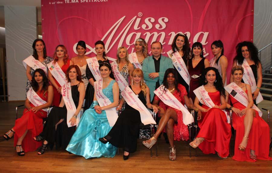 Vincitrici selezioni Miss Mamma Italiana 2019 a Bolzano