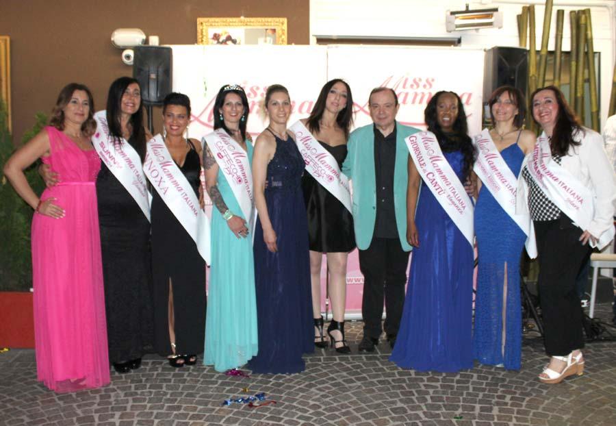 Vincitrici selezioni Miss Mamma Italiana 2019 a Cantù