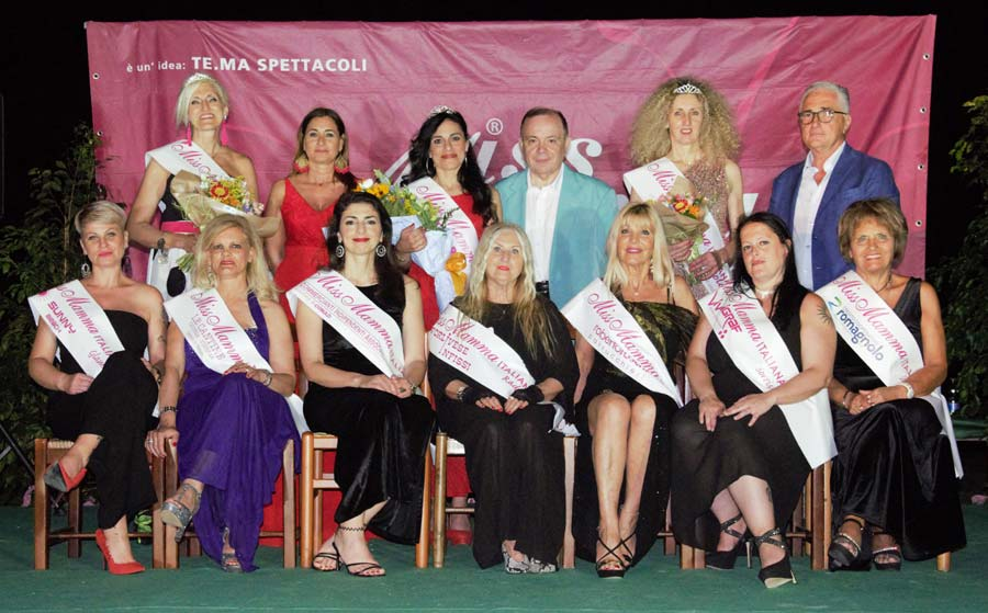 Vincitrici selezioni Miss Mamma Italiana 2019 a Lugo
