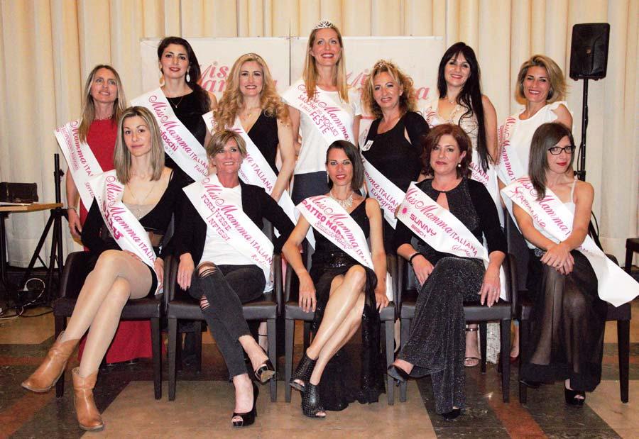 Vincitrici selezioni Miss Mamma Italiana 2019 a Ravenna