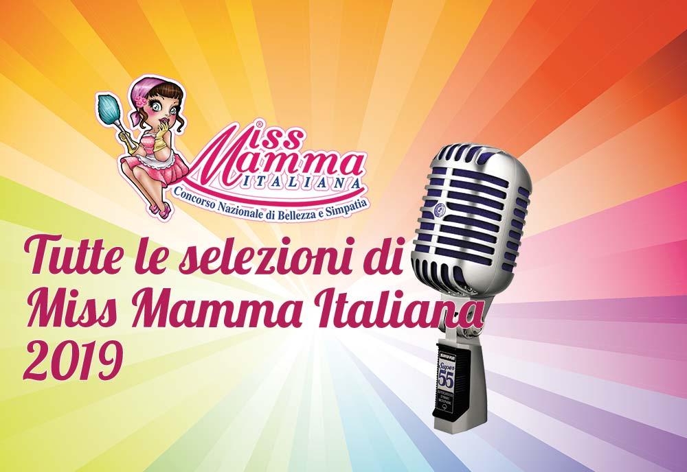 Selezioni Miss Mamma Italiana 2019