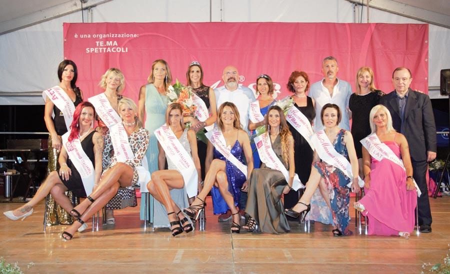 Mamme premiate alla selezione Miss Mamma Italiana 2020 a Tombolo