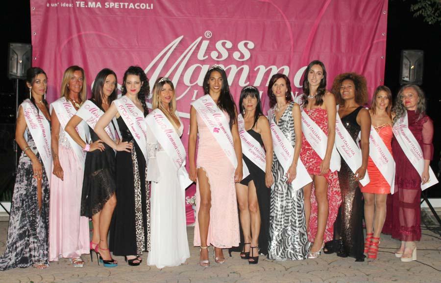 Vincitrici selezione Miss Mamma Italiana 2019 a Rimini