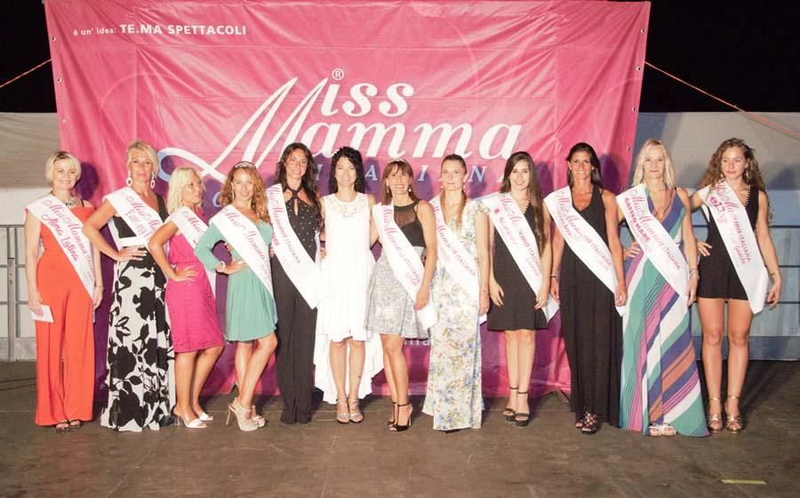 Vincitrici selezione Miss Mamma Italiana 2020 ad Andora (Savona)