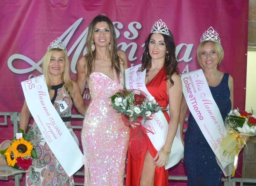 Mamme premiate alla selezione Miss Mamma Italiana 2020 di Laterza