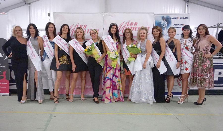 Mamme premiate alla selezione Miss Mamma Italiana 2020 di Sorga